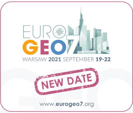 Eurogeo 7 postponed to 19-22 September
