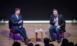 Iain Lee and Reece Dinsdale
