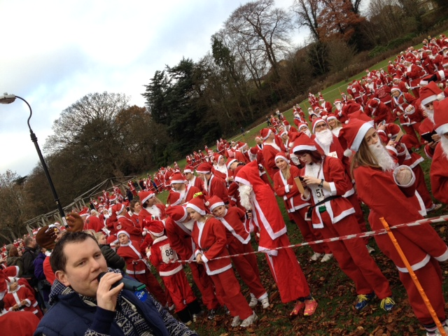 Skipton Santa Fun Run