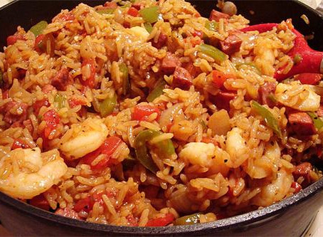 Spicy New Orleans Jambalaya to Die For (with Hotte Chocolatte!)