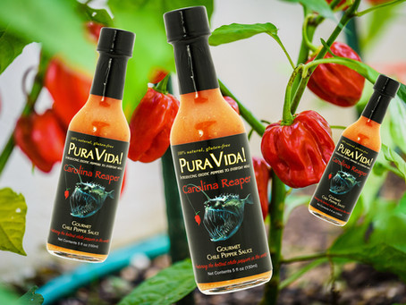 CAROLINA REAPER is here! Pre-order our new fabulous flavor for shipping July 6th! 15% off!