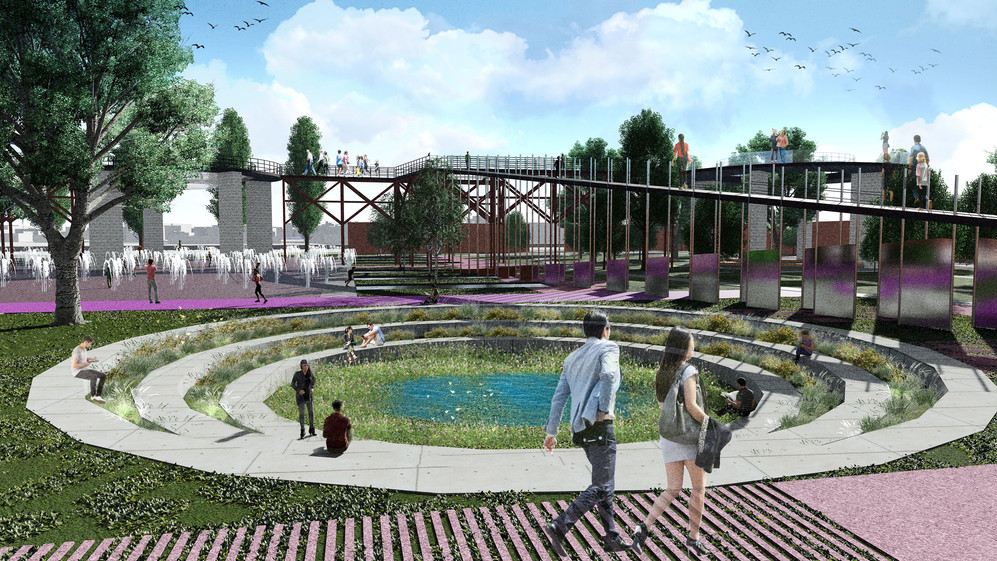 Green Community Garden / SuDS