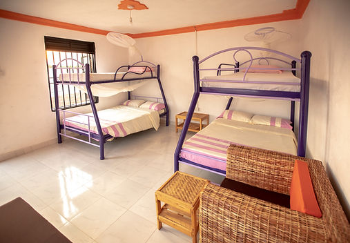 Double  Bedrooms at Angels Truckstop II.