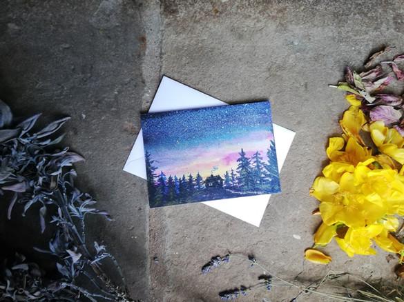 Enchanted Greeting Card