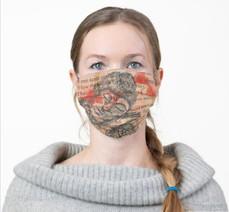 Buddha RomsArt Facemask