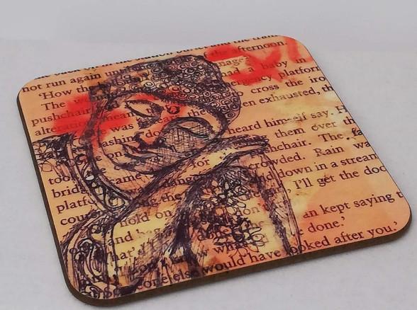 RomsArt Buddha Coaster