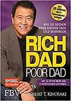 Buchconver des Buchs Rich Dad, poor Dad von Robert T. T. Kiyosaki.  Anklicken um weitergeleitet zu werden. um weitergeleitet zu werden.