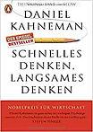 Buchconver des Buchs Schnelles Denken, langsames Denken von Daniel Kahneman. Anklicken um weitergeleitet zu werden.