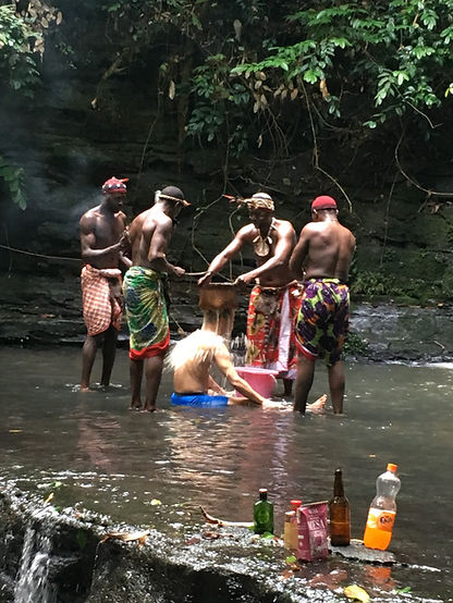 Iboga Spiritual Shower