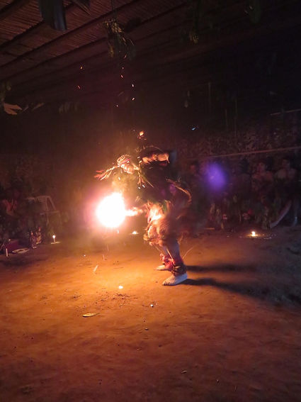 Bwiti Fire Dance