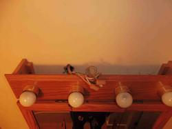 Bathroom Light Wiring Hazard