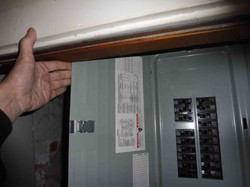 Inaccessible Electric Panel