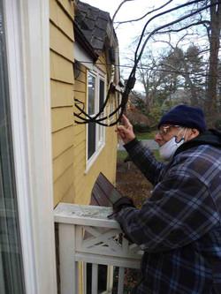 Electric Service Improper Clearances