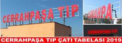 C.PAŞA TIP çatı tabelası
