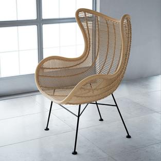 Rattan Egg Chair