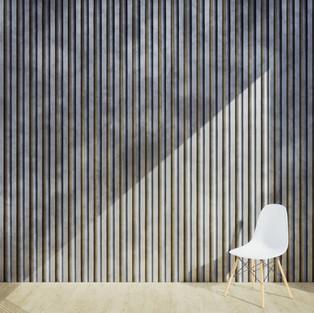 Metal Stripes Corrugated