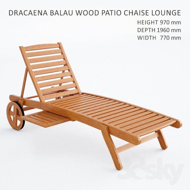 Chaise Lounge 01