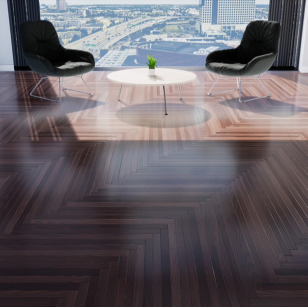 Parquet Ipe - Single Herringbone