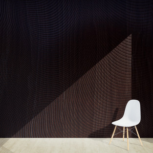 Wood Speaker Mesh Dots