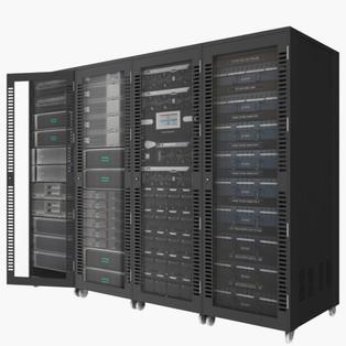 Server Cabinet 01