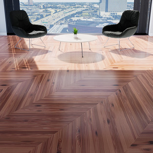 Parquet Red Cedar - Hungarian Point