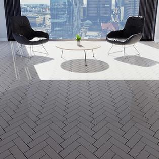 Seashell Tiles - Herringbone
