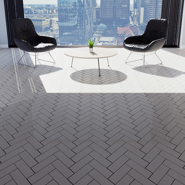 Seashell Tiles - Herringbone