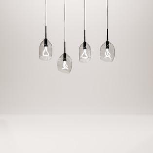 Half Open Hanging Light