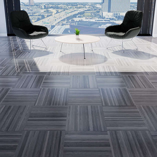 Parquet European Ash Gray - Square Basket