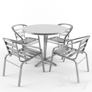 Patio Dining Set 03