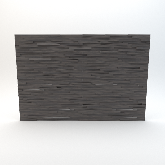 Extruded Wood Wall 01