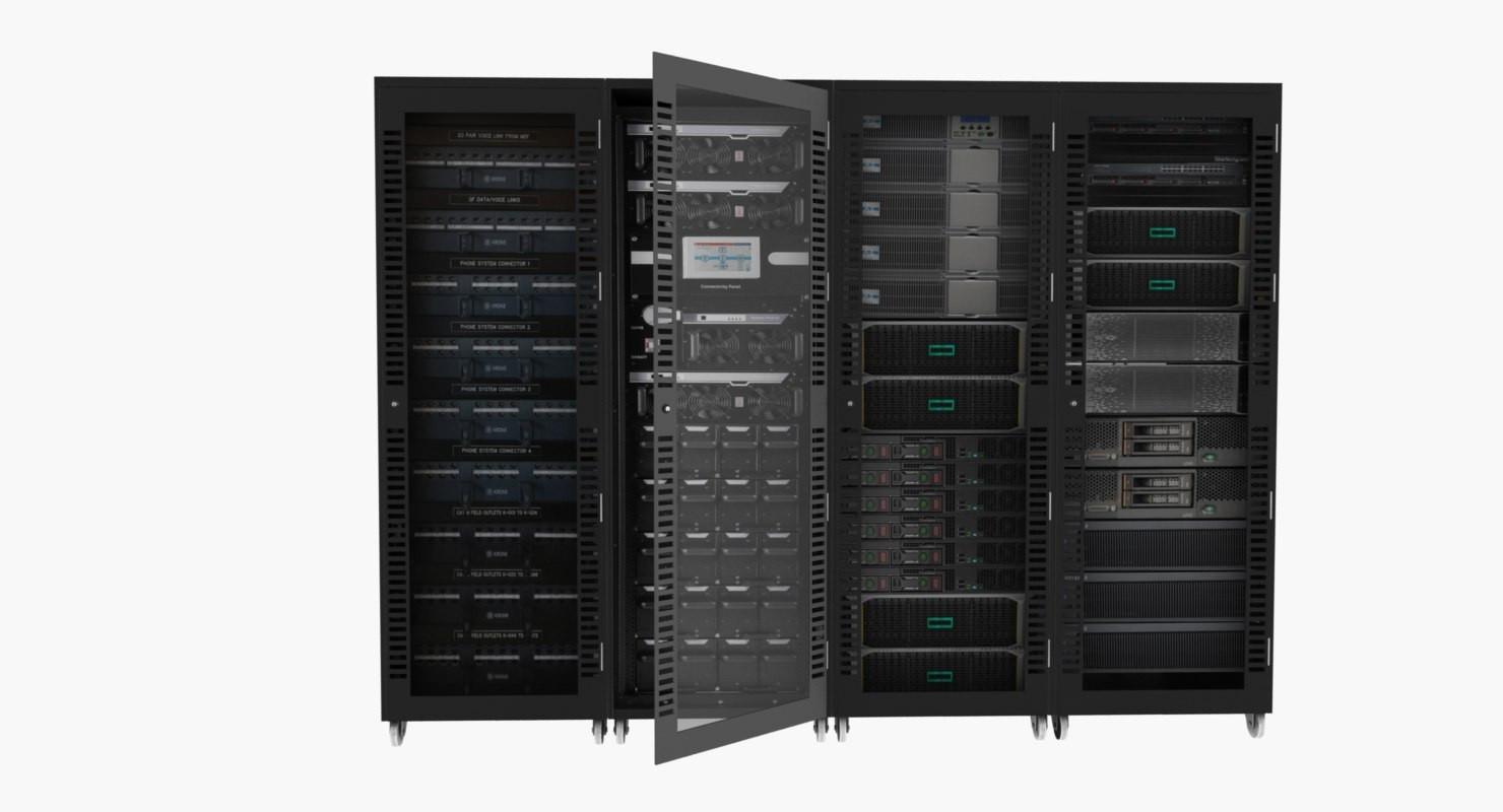 Server Cabinet 02