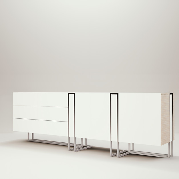 Cage Sideboard Storage