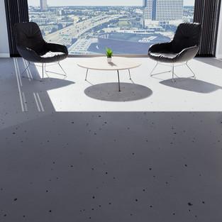 Concrete With Spots