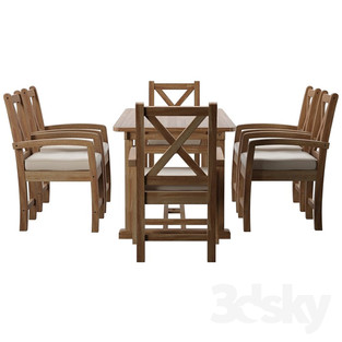 Patio Dining Set 01