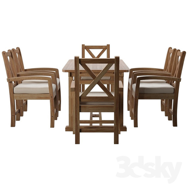 Patio Dining Set 01