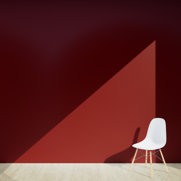 Solid Paint Deep Red