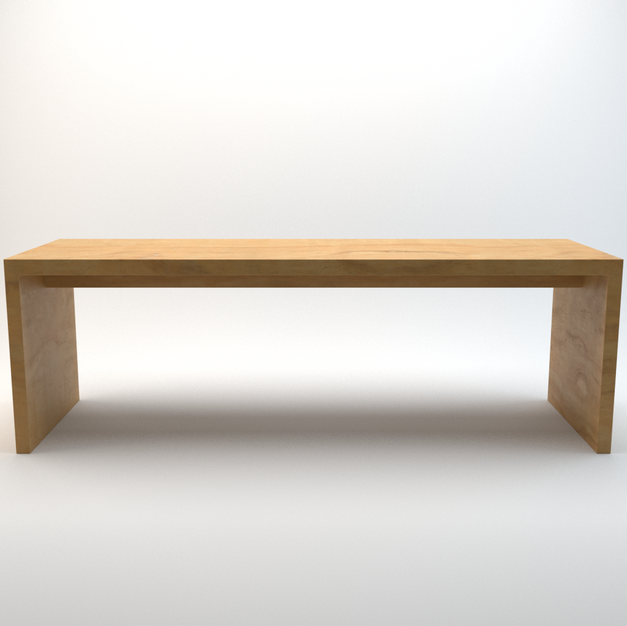 Modern Wooden Bar Table