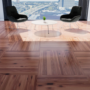 Parquet Red Cedar - Square Basket