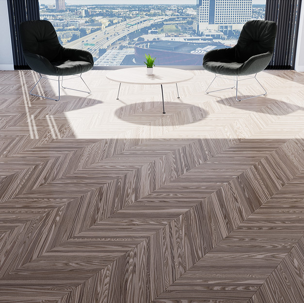 Parquet European Ash - Hungarian Point