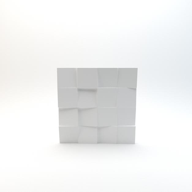 Slanted 3D Wall Panel