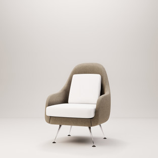 Curved Armchair