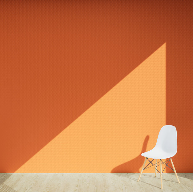 Braided Wallpaper - Orange