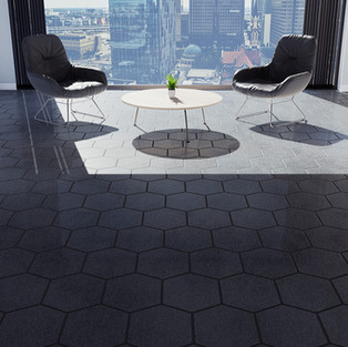 Brazilian Tile - Hexagon
