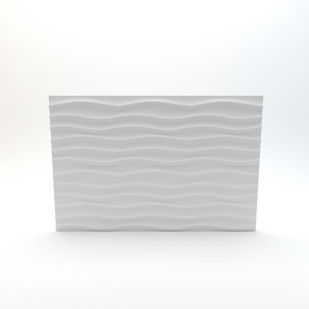 Wavy 3D Wall Panel