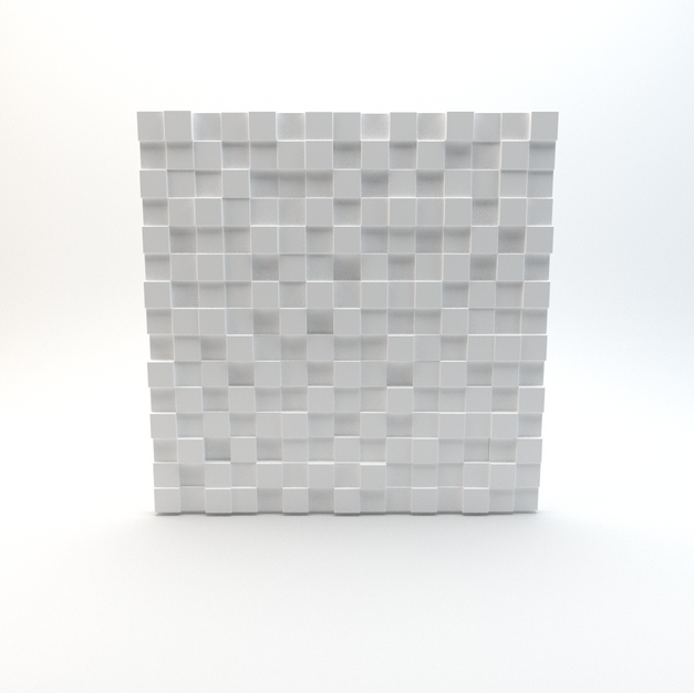 3D Cube Wall 01