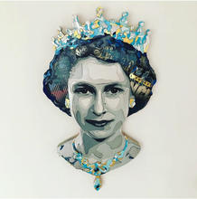 """Forever Queen"" (37""x21""x2""), 2019"