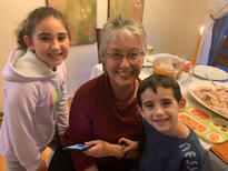Terry Duffy and her Grandkids