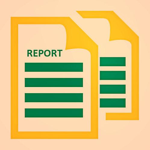Expense Report Option 2 (Retainer)