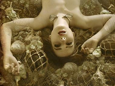 """portfolio """" la jeune fille aux deux perles """" Samuel Guerrier"""